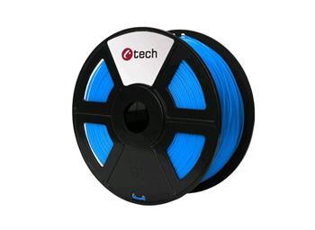 C-TECH tisková struna ( filament ) , PLA, 1,75mm, 1kg, modrá
