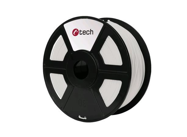 C-TECH tisková struna ( filament ) , PLA, 1,75mm, 1kg, natural