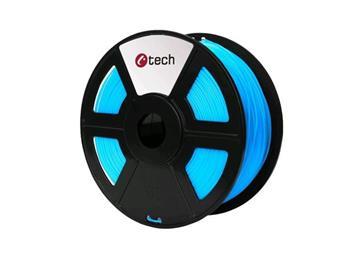 C-TECH tisková struna ( filament ) , PLA, 1,75mm, 1kg, nebeská modrá