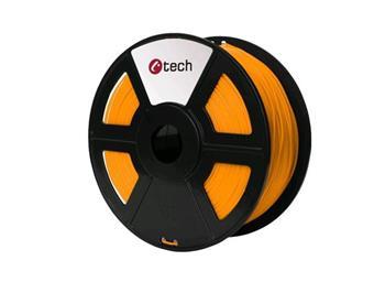 C-TECH tisková struna ( filament ) , PLA, 1,75mm, 1kg, oranžová