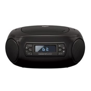 ENERGY Boombox 3 přenosný CD přehrávač kompatibilní s MP3 (Bluetooth, CD Player, USB MP3 player, FM Radio, 2W)