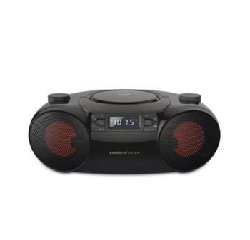 ENERGY Boombox 6 přenosný CD přehrávač kompatibilní s MP3 (Bluetooth, CD Player, USB MP3 player, FM Radio, 12W)