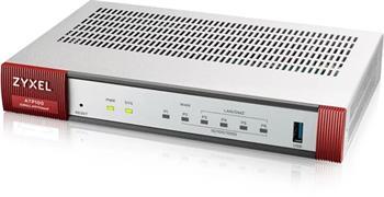 Zyxel ATP100 10/100/1000, 1*WAN, 4*LAN/DMZ ports, 1*SFP, 1*USB with 1 Yr Bundle