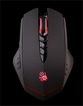 A4tech BLOODY R80A, bezdrátová herní myš, rozlišení až 4000DPI, černá, USB, CORE 3