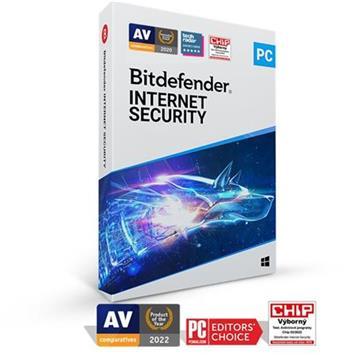 Bitdefender Internet Security 2020 5 zařízení na 2 roky