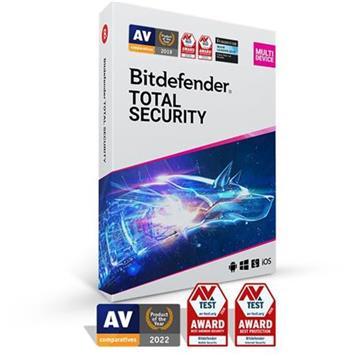 Bitdefender Total Security 2020 5 zařízení na 2 roky