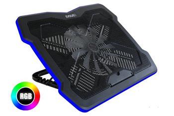 EVOLVEO Ania 6 RGB, chladicí podstavec pro notebook, RGB podsvícení, až 17