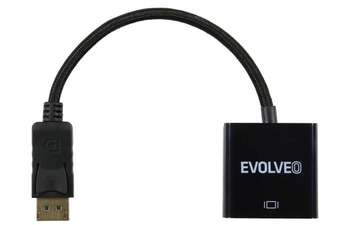 Evolveo DisplayPort - DVI adaptér