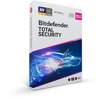 Bitdefender Total Security 2020 5 zařízení na 3 roky PROMO