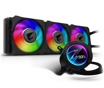 GIGABYTE vodní chladič CPU AIO AORUS LIQUID COOLER 360, 3x120mm, RGB