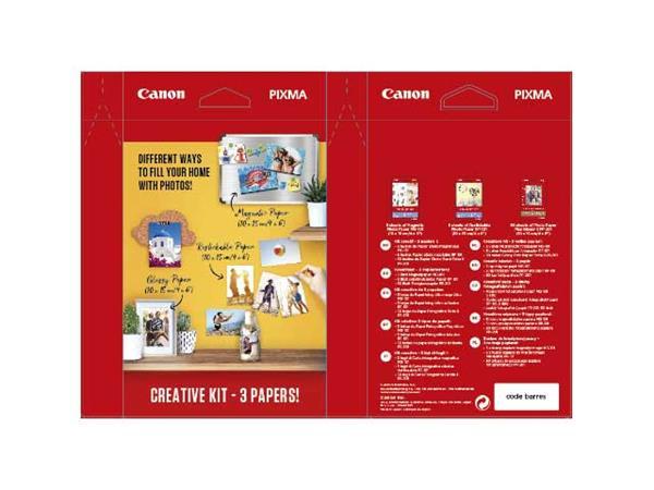 Canon fotopapír Creative Kit2 - MG/RP/PP-201