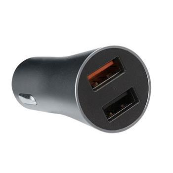 OMEGA nabíječka do auta 2xUSB 3,1A Quick Charge 3.0 18W
