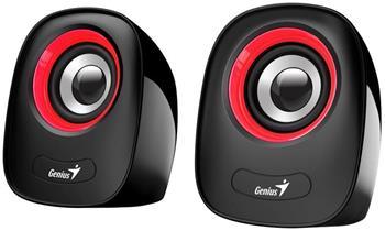 Genius repro SP-Q160, přenosné repro, 2.0, 6W, USB napájení, 3,5mm jack, černo-červené