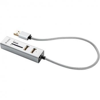 YENKEE YHC 101SR USB COMBO HUB+čtečka