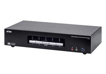 ATEN CS1964-AT-G 4-Port USB3.0 4K DisplayPort Triple Display KVMP™ Switch