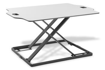 DIGITUS Ergonomická pracovní plocha pro notebook s deskou 79x54cm, max. zatížení 10 kg, max. výška 40 cm