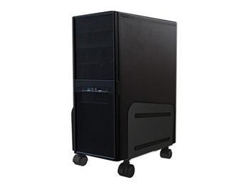 NewStar držák na PC pod stůl mobilní šířka 12-21cm, černá