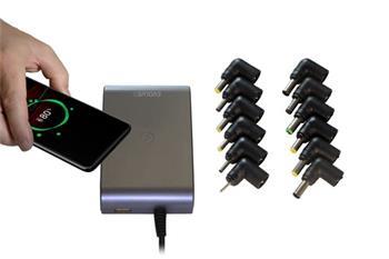 EVOLVEO Chargee C90, 90W univerzální napájecí zdroj pro notebooky s beztrátovým nabíjením