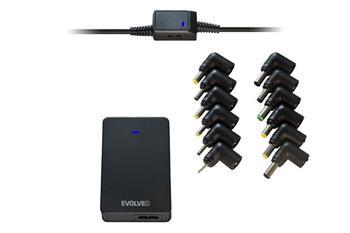 EVOLVEO Chargee B90, 90W univerzální napájecí zdroj pro notebooky