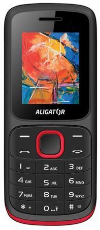ALIGATOR D210 Dual sim černo-červený