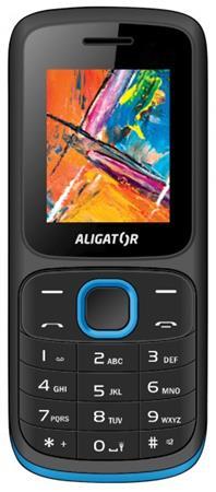 ALIGATOR D210 Dual sim černo-modrý