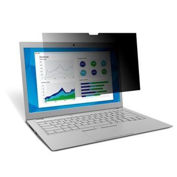 3M Černý privátní filtr na notebook 15.6' widescreen 16:9 (PF156W9B)
