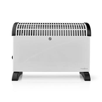 Nedis HTCO20FWT - Konvekční Ohřívač | Termostat | Funkce Ventilátoru | 3 Nastavení | 2000 W | Bílý