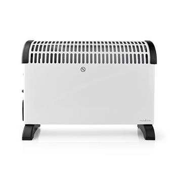 Nedis HTCO30FWT - Konvekční Ohřívač | Termostat | Funkce Ventilátoru | Funkce Časovače | 3 Nastavení | 2000 W | Bílý