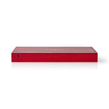 Nedis HDDE25310RD - Přenosný Box pro Pevný Disk | 2,5