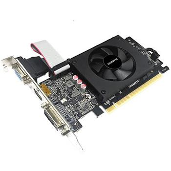 GIGABYTE VGA NVIDIA GeForce® GT 710, 2GB, GDDR5, 1xDVI-D, 1xHDMI, 1xD-SUB