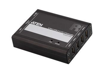ATEN 4-port USB 2.0 CAT 5 Extender (100m)