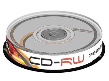 FREESTYLE CD-RW 700MB 12X CAKE*10 [56243]