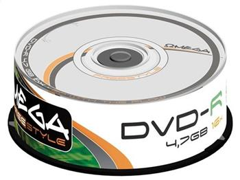 FREESTYLE DVD-R 4,7GB 16X CAKE*25 [56675]