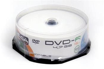 FREESTYLE DVD-R 4,7GB 16X WHITE FF INKJET PRINTABLE CAKE*25 [40194]
