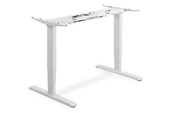 DIGITUS Elektricky výškově nastavitelný rám stolu, výška 63-125cm pro stolní desku do 200cm, bílá