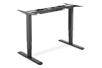 DIGITUS Elektricky výškově nastavitelný rám stolu, výška 63-125cm pro stolní desku do 200cm, černá