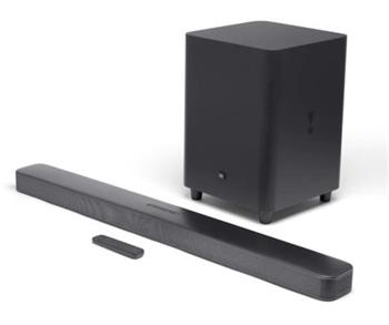 JBL Bar 5.1 Surround Soundbar With Wireless Subwoofer - Black