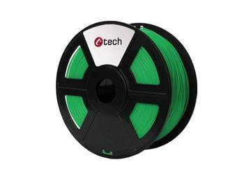 C-TECH tisková struna ( filament ) , PETG, 1,75mm, 1kg, zelená