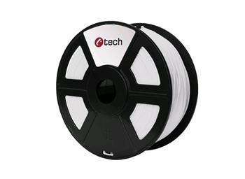 C-TECH tisková struna ( filament ) , PETG, 1,75mm, 1kg, bílá