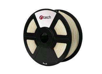 C-TECH tisková struna ( filament ) , PETG, 1,75mm, 1kg, transparentní