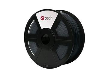 C-TECH tisková struna ( filament ) , ASA, 1,75mm, 1kg, šedá