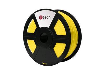 C-TECH tisková struna ( filament ) , ASA, 1,75mm, 1kg, žlutá