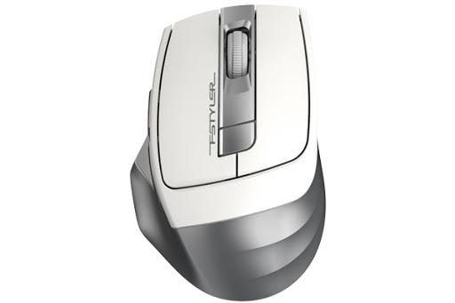 A4tech FG35, FSTYLER bezdrátová myš optická 2000DPI, 2.4 GHz, stříbrná