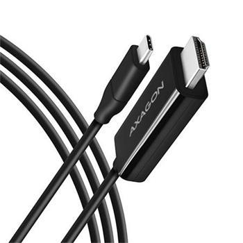 AXAGON RVC-HI2C, USB-C -> HDMI 2.0 redukce / kabel 1.8m, 4K/60Hz
