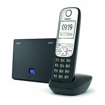 SIEMENS Gigaset A690 IP Black - bezdrátový IP telefon