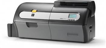 Printer ZXP Series 7; Dual Sided, UK/EU Cords, USB, 10/100 Ethernet, Media Starter Kit