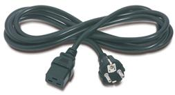 PremiumCord napájecí kabel IEC 320 C19 na CEE7, délka 2,7m