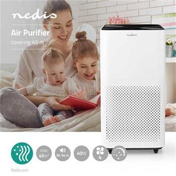Nedis AIPU300CWT - Čistič Vzduchu | 45 m2 | 30–54 dB | Indikátor Kvality Vzduchu