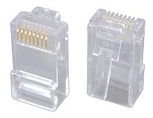 Solarix Modulární konektor 8p8c CAT5E neskládaný, nestíněný, pro licnu