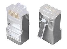 Solarix Modulární konektor 8p8c CAT5E neskládaný, stíněný, pro licnu